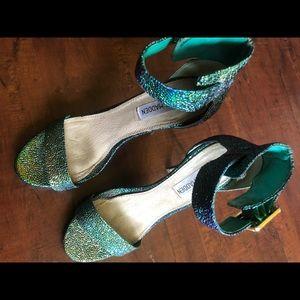 Steve Madden mermaid heels 🧜🏼♀️💙💚